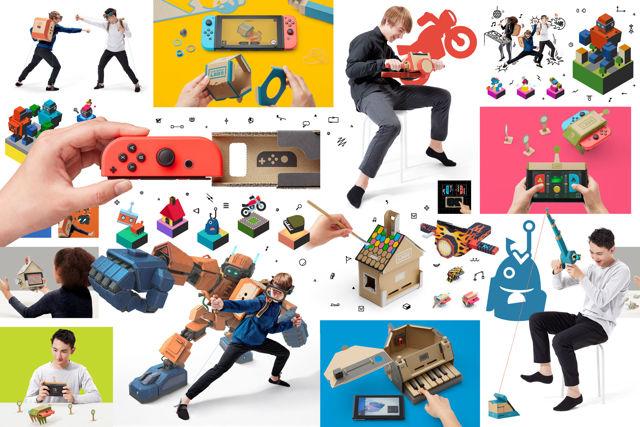 Nintendo Switch 紙箱玩具《任天堂實驗室》釋出介紹影片 結合多樣化創意玩法